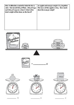 Measurement Test - Year 3/4