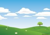 Meadow Animation Background part 1