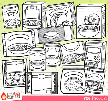 Meal Kits Food Clip Art
