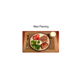 Meal Planning Power Point