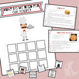 Meal Planning & Preparation Velcro Activity - Distance Learning