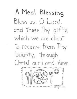 Meal Prayer