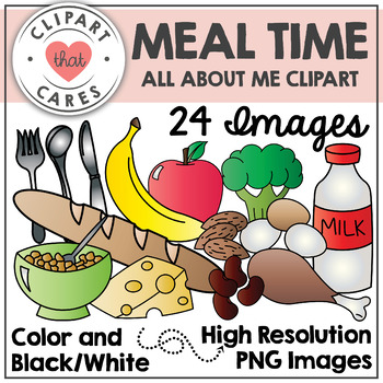 Meal Time Clipart by Clipart That Cares