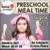Preschool Food Printables (Week 36)