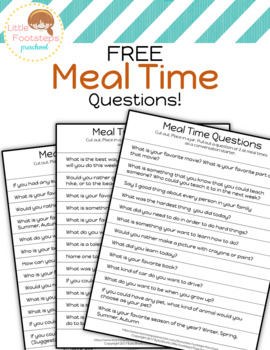 Meal Time Questions