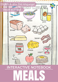 Meals - Interactive Notebook Activity and Game