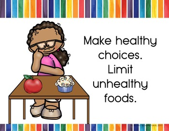 Healthy Eating - Mealtime Posters