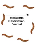 Mealworm Life Cycle Journal
