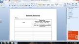 Mealworm Observation Sheet