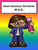 Mean Absolute Deviation No Prep Lesson