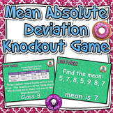 Mean Absolute Deviation Interactive Knockout Game