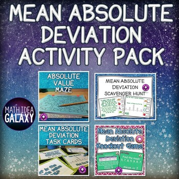 Mean Absolute Deviation Activity Pack