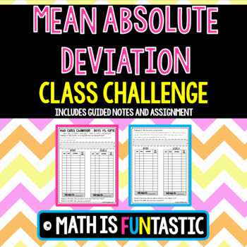 Mean Absolute Deviation - Class Challenge