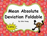 Mean Absolute Deviation Foldable 6.SP.5c