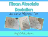 Mean Absolute Deviation Interactive Notebook