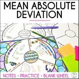 Mean Absolute Deviation Math Wheel