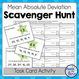Mean Absolute Deviation - Scavenger Hunt (6.SP.2)