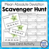 Mean Absolute Deviation - Scavenger Hunt (6.SP.2)