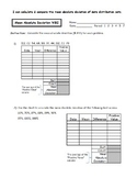 Mean Absolute Deviation Worksheets