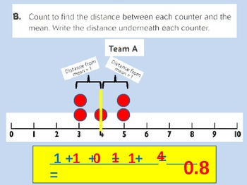 Mean Absolute Deviation for Visual Learners