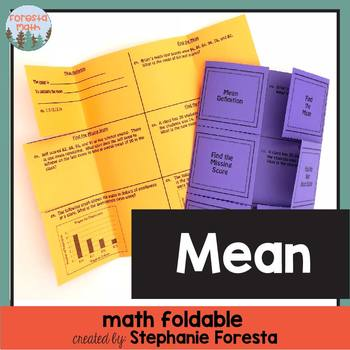 Mean Math Foldable