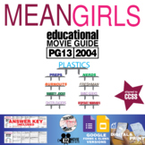 Mean Girls Movie Guide | Questions | Worksheet | Google Forms (PG13 - 2004)