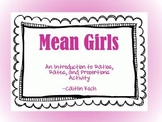 Mean Girls Hands on Ratios Activity