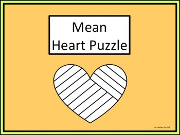Mean Heart Puzzle