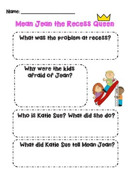 Mean Jean the Recess Queen