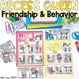 The Recess Queen Bullying Social Skills Printable Digital