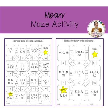 Mean Maze Activity