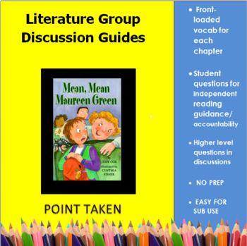 Mean, Mean Maureen Green Reading Group Guides