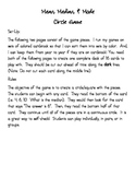 Mean, Median, & Mode Circle Game