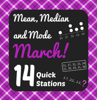 Mean, Median, Mode March! - Active Math