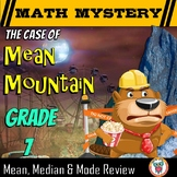 Mean, Median, & Mode Math Mystery Activity - 7th Grade Worksheets Edition