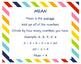 Mean Median Mode Range Color by Number Worksheets Notes Smartboard BUNDLE