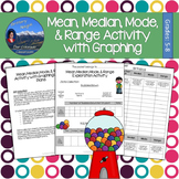 Mean, Median, Mode, & Range Exploration Activity