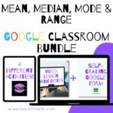 Mean, Median, Mode & Range Google Form Bundle – Perfect fo