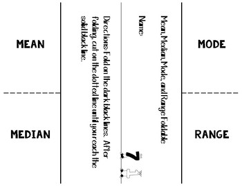 Mean, Median, Mode, Range Packet -- (Activites, Games, Task Cards)