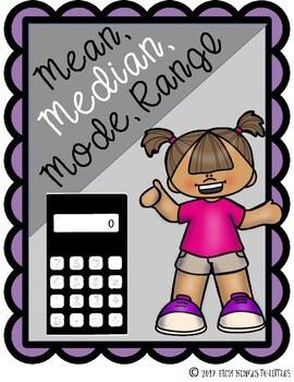 Mean, Median, Mode, & Range {Stations}