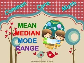 Mean - Median - Mode - Range -Understanding With Easy Steps!!!!