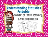 Mean, Median, Mode, Range, and MAD Foldable