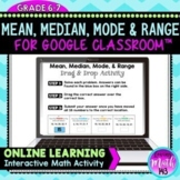 Mean, Median, Mode & Range for use with Google Slides/Classroom™