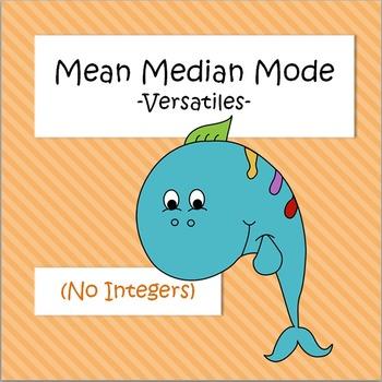 Mean Median Mode - VersaTiles
