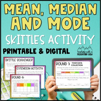 Mean, Median, Mode, and Range Activity or Assessment *Skittles!*