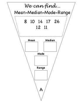 Mean Median Mode and Range Banner