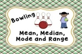 Mean, Median, Mode and Range Bowling