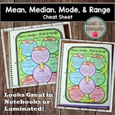Mean, Median, Mode, and Range Cheat Sheet