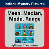 Mean, Median, Mode, and Range - Native American Indians My