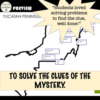Mean, Median, Mode and Range Math Detective Activity